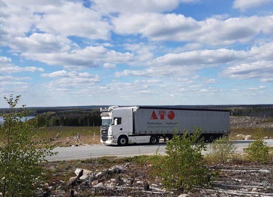 Transport naar Zweden - 2