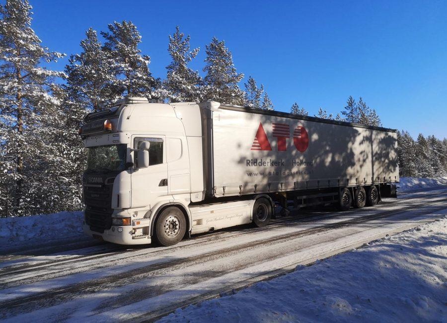 Transport naar Zweden