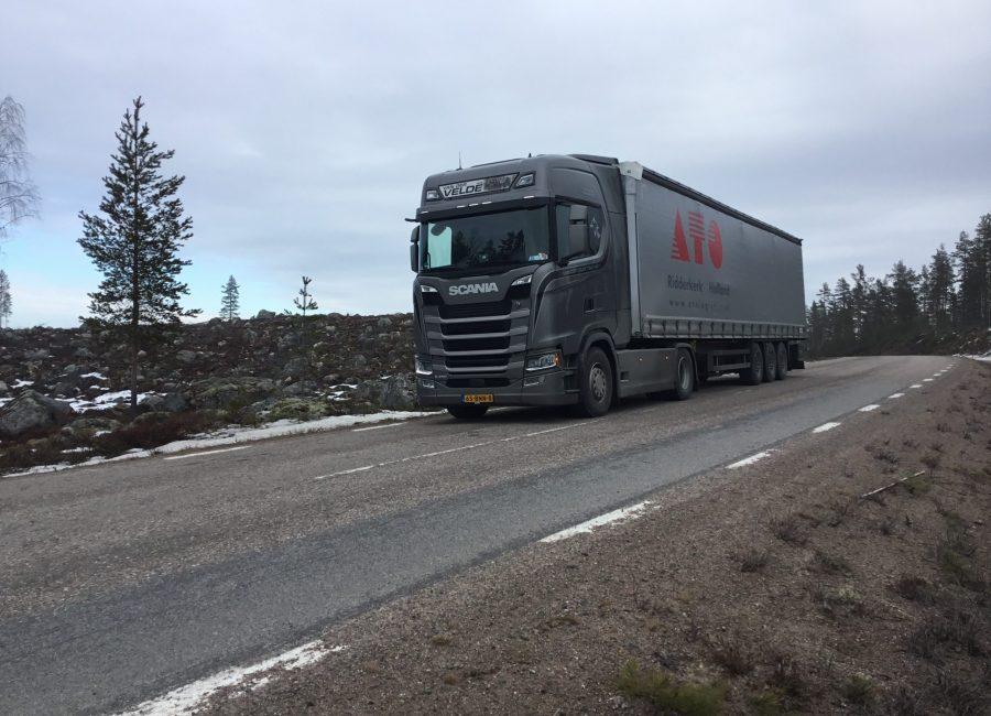 Transport naar Zweden - 4